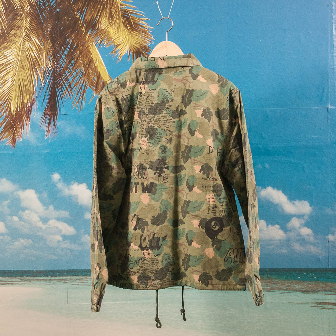 Altamont Apparel - DFFL Coach Jacket - Camo