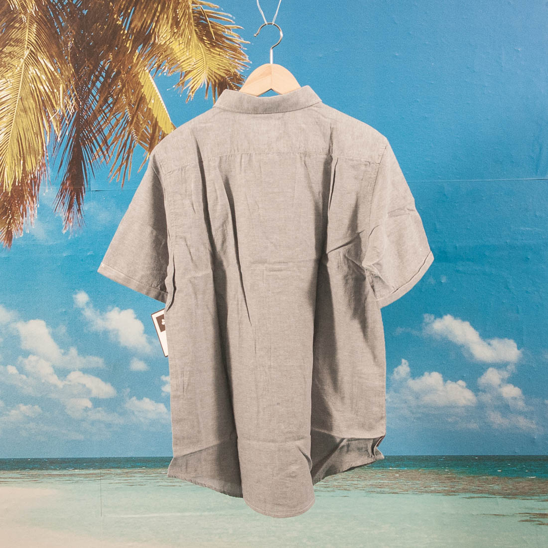 Fourstar Clothing - Mariano Oxford S/S Shirt - Grey