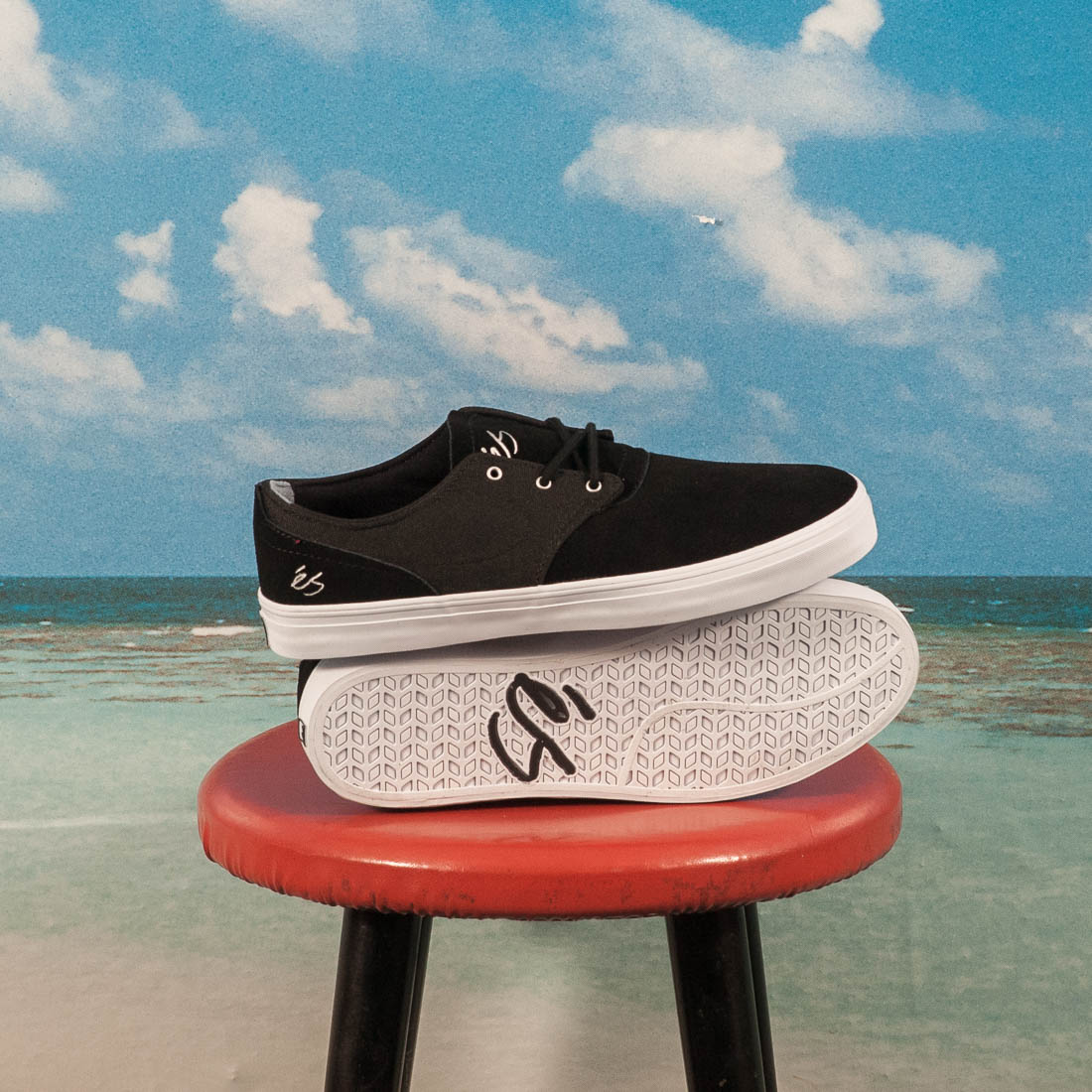 és Skateboarding - Accent - Black / White / Silver