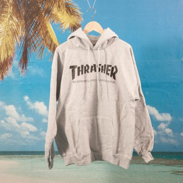 Thrasher - Skate Mag Hoodie - Heather Grey