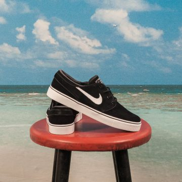 Nike SB - Zoom Stefan Janoski Kids GS - Black / White