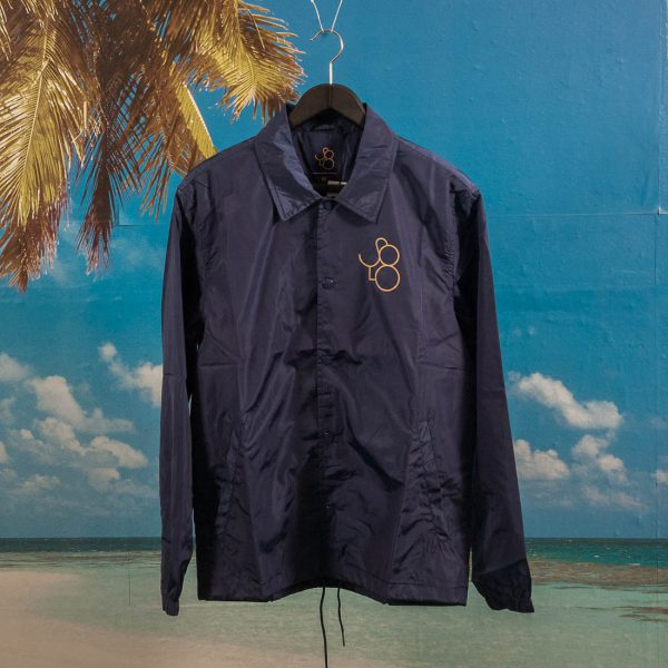 Solo Skatemag - Coach Jacket - Navy