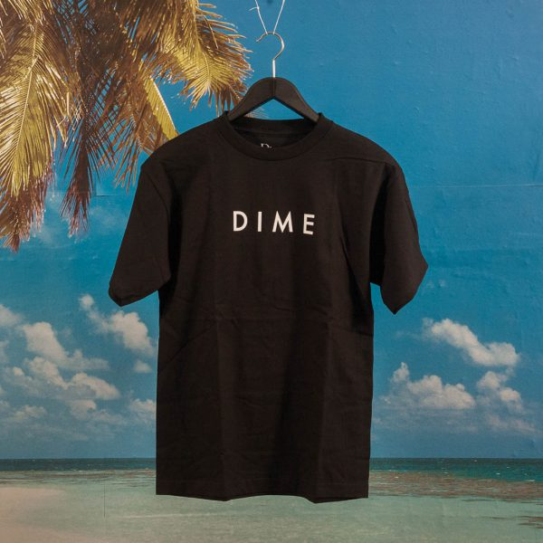 Dime MTL - Basic Logo T-Shirt - Black