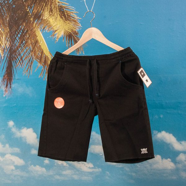 Fourstar Clothing - Collective Drawcord Short - Black