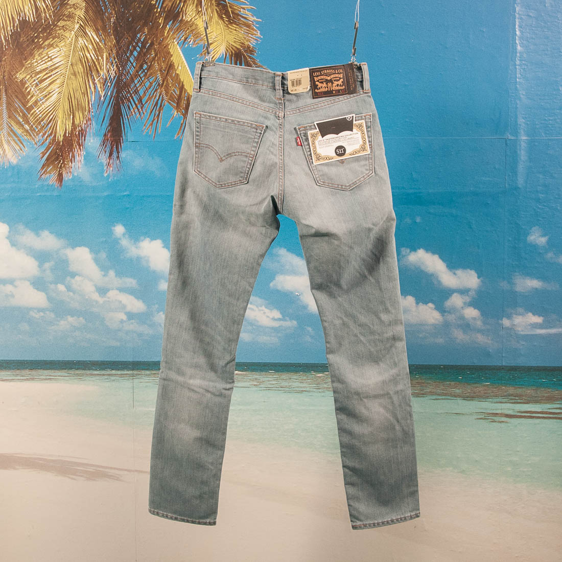 Levis Skateboarding - 511 Slim 5 Pocket S&E - Waller Blue