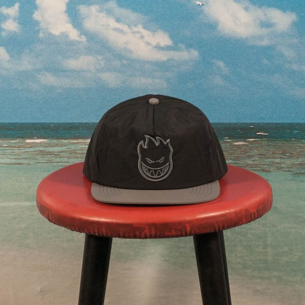 Spitfire Wheels - Bighead Unstructured Snapback - Black / Grey