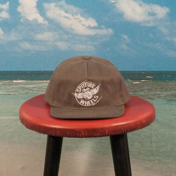 Spitfire Wheels - Flying Classic Snapback - Brown