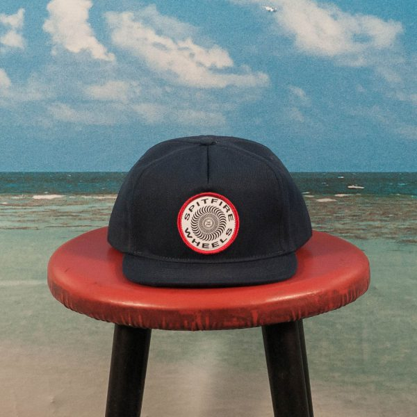 Spitfire Wheels - OG Classic Patch Snapback - Navy