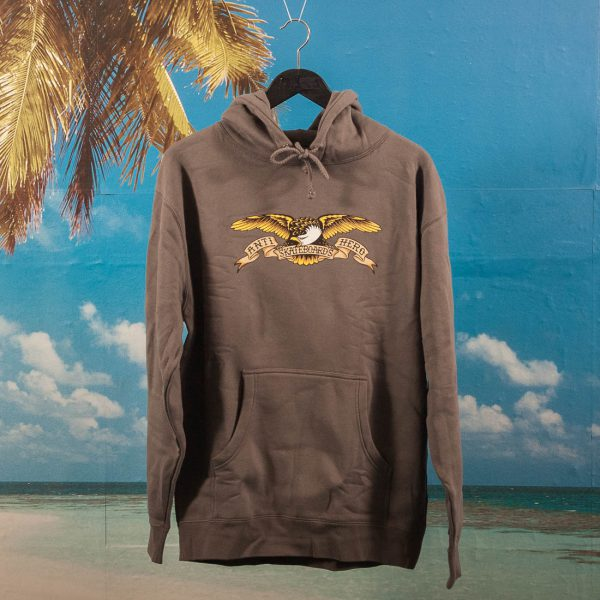 Antihero Skateboards - Eagle Heavyweight Hoodie - Charcoal