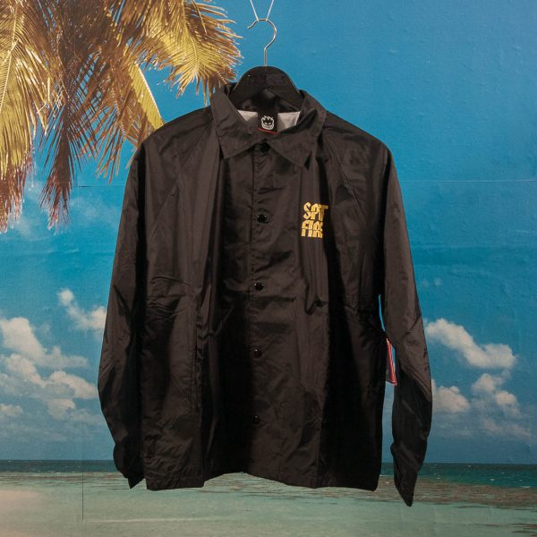 Spitfire Wheels - Clean Cut Coach Jacket - Black