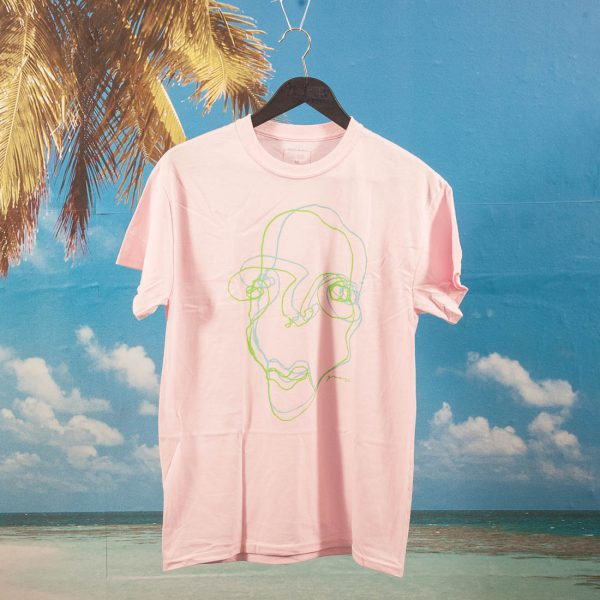 Quasi Skateboards - Faces T-Shirt - Pink