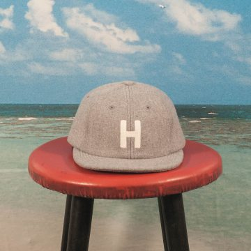 HUF - Block H 6 Panel - Grey Heather