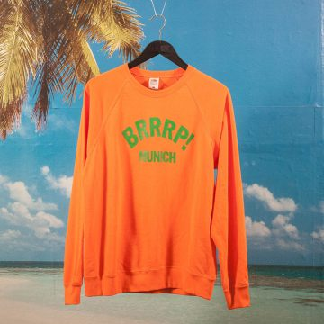 GYM Yilmaz - BRRRP! Crewneck - Orange