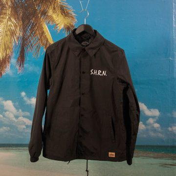 SHRN - Most Dangerous Coach Jacket - Black