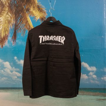 HUF X Thrasher - TDS Chore Jacket - Black