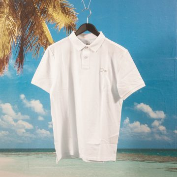 Dime MTL - Polo Shirt - White