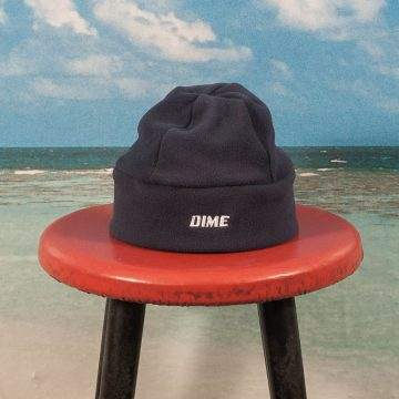 Dime MTL - Fleece Beanie - Navy