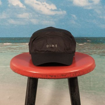 Dime MTL - 6 Panel Hat - Black