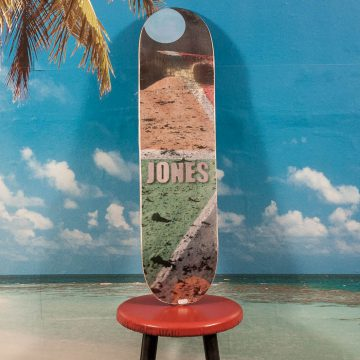 Isle Skateboards - Chris Jones Lunar Deck - 8.125