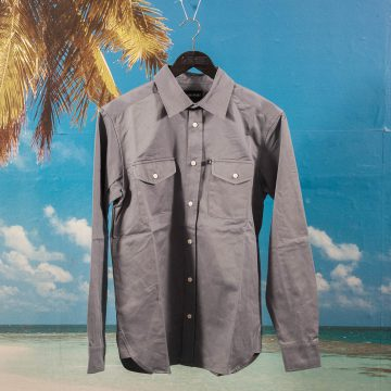 Pass~Port - Workers Late Shirt - Blue