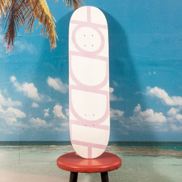 Hoddle - Logo Pink Deck - 8.38
