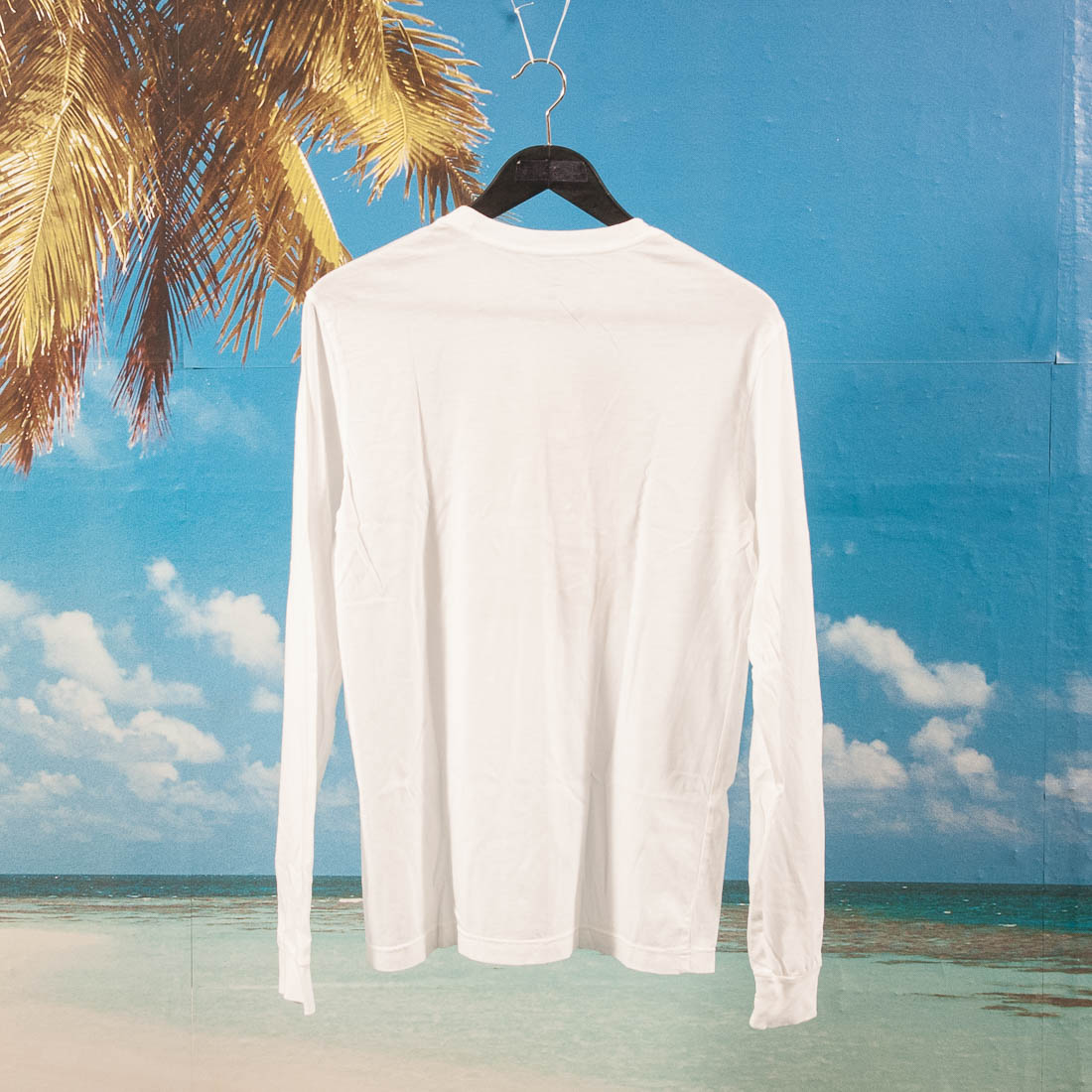 DQM - Stacked L/S T-Shirt - White