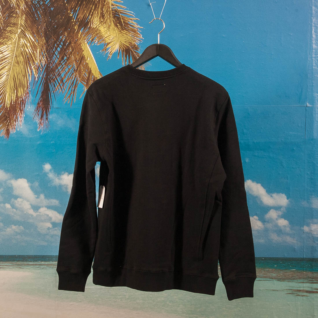DQM - Rose Crewneck - Black