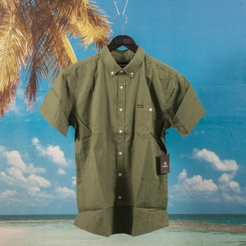 Brixton - Central Shirt S/S - Chive
