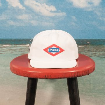 Pizza Skateboards - Sol Hat - White