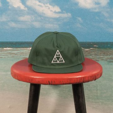 HUF - Triple Triangle Cap - Dark Green