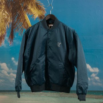 Polar Skate Co. - College Jacket - Petrol Blue