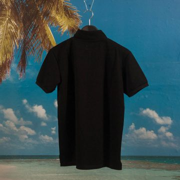 Polar Skate Co. - Half Zip Pique - Black
