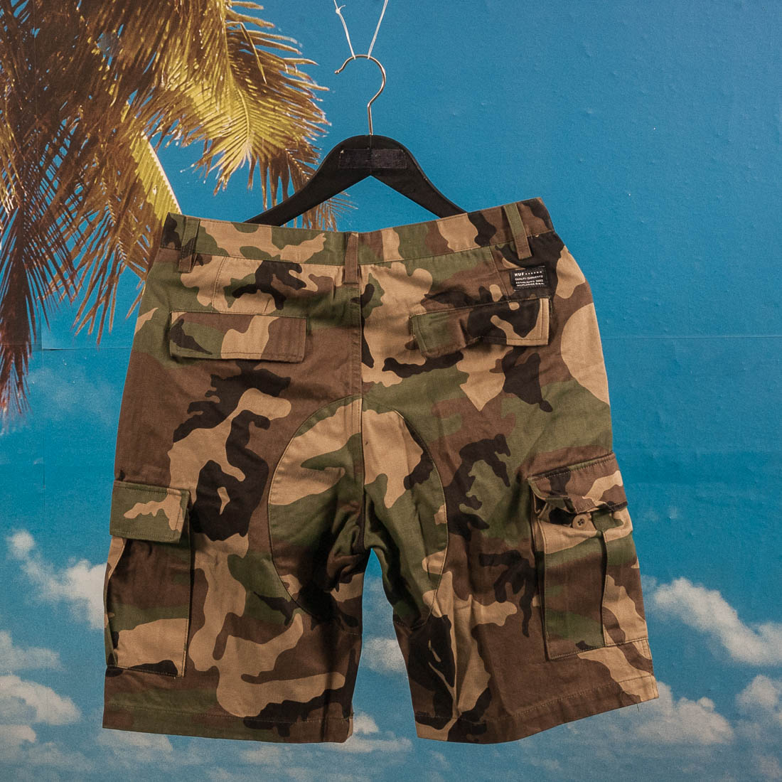 HUF - Fatigue Cargo Shorts - Woodland
