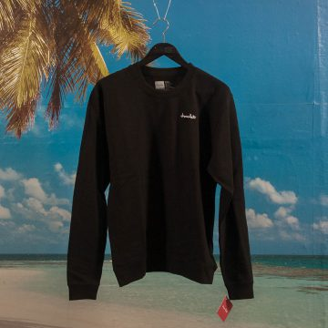 Chocolate Skateboards - Chunk Embroidered Crewneck - Black