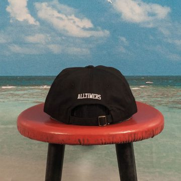 Alltimers - Airline Hat - Black
