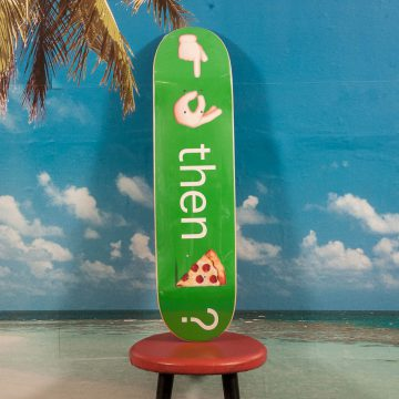 Pizza Skateboards - Emoji Deck Green - 7.875