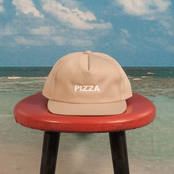 Pizza Skateboards - Logo Unstructured Cap - Beige