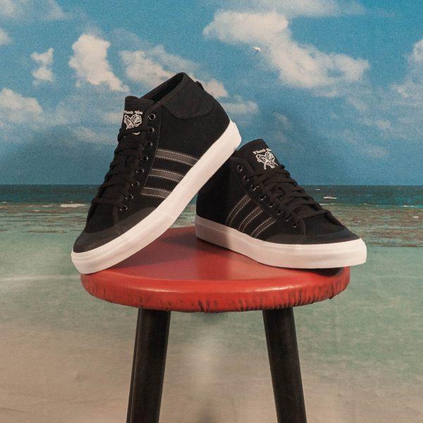 83dce07274 adidas Skateboarding - Matchcourt Mid - Black   Black   White at  SooHotRightNow Onlineshop - SHRN Skateshop München
