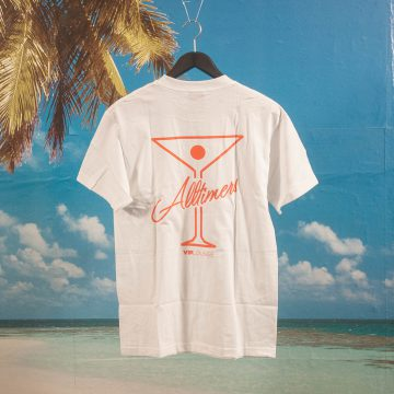 Alltimers - Logo T-Shirt - White / Orange