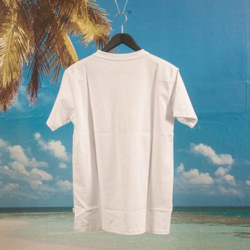 Post Details - Korvlover Flock Print T-Shirt - White