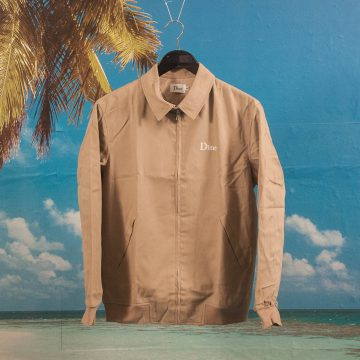 Dime MTL - Twill Jacket - Tan