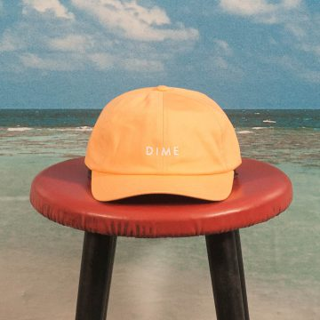 Dime MTL - Basic Cap - Orange