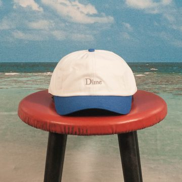 Dime MTL - Classic Two Tone Cap - White / Royal