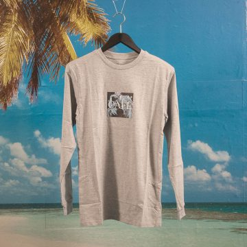 Skateboard Cafe - Morgan Long Sleeve T-Shirt - Heather Grey