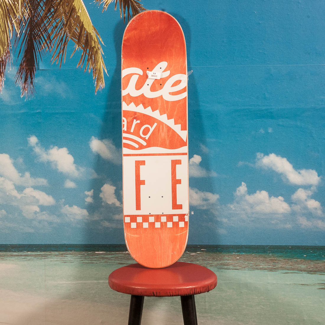 Skateboard Cafe - Fast Embossed Stripe Deck - 8.4