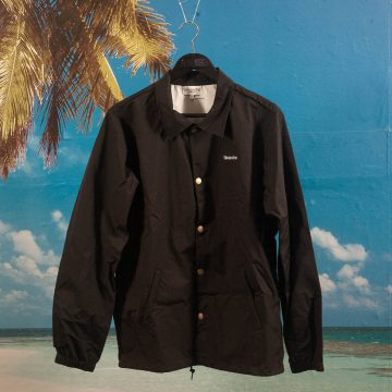 Dimanche Skate Co. - Coach Jacket - Black
