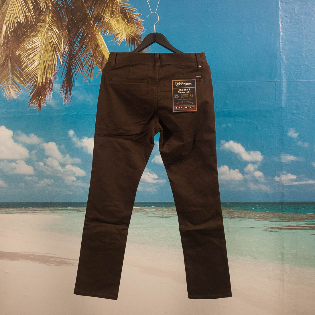Brixton - Reserve Chino Pant - Brown