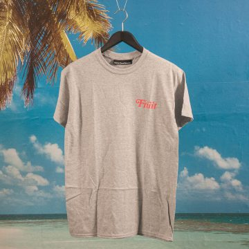 Call Me (917) - Fruit T-Shirt - Heather Grey
