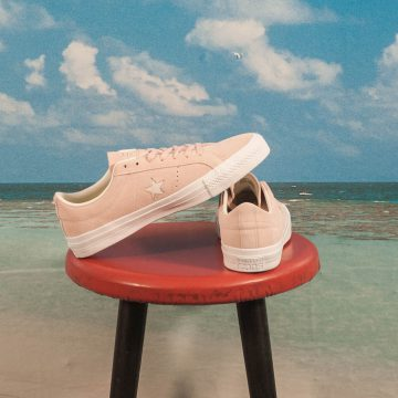 Converse Cons - One Star Pro OX - Dusk Pink / Egret / White