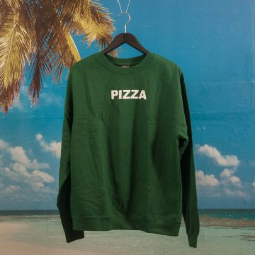 Pizza Skateboards - Logo Crewneck - Dark Green